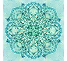 - Azure garden - Photographic Print