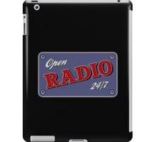 Open Radio 24/7 iPad Case/Skin