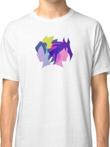 Arc V Ship Silhouette- Yuri/Serena Classic T-Shirt