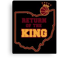 RETURN OF THE KING Canvas Print