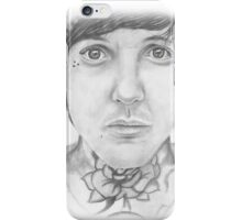 Oli Sykes Portrait iPhone Case/Skin