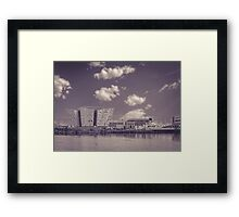 Cloudy Titanic Belfast | Irish Landscape | Pictures Of Ireland Framed Print