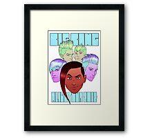 Big Bang 'Alive' Tour 2012 Framed Print