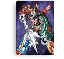 Voltron: Galactic Guardian Canvas Print