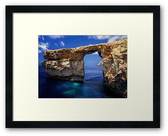Azure Window by Alf Caruana