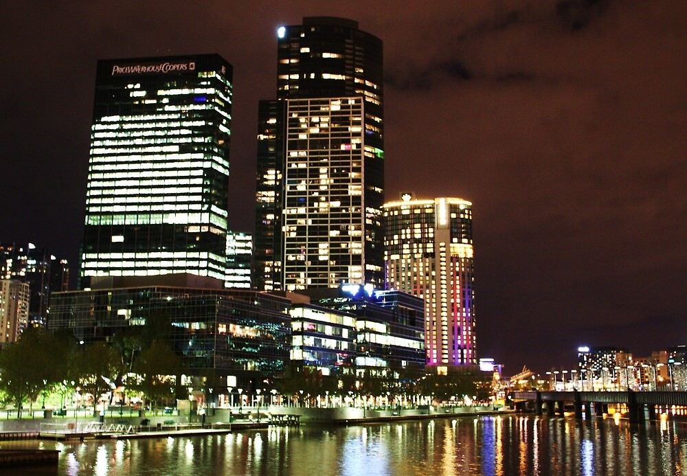 Crown Towers - Melbourne City by brendanscully