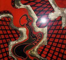 INTO THE MACHINE 150cmX100cmX5cm by Aziz Ulas