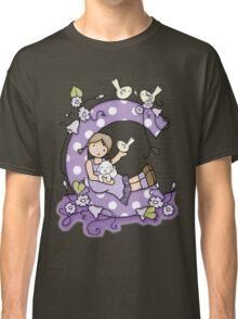 Clara in Violet Classic T-Shirt