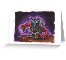 Skeletor: The Death-Rattler Greeting Card