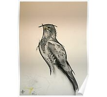 The Black Kite - Charcoal - English Willow Poster