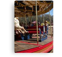 Pulling the Sleigh Canvas Print