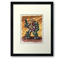 He-Man: The Fang of Grayskull Framed Print
