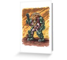 He-Man: The Fang of Grayskull Greeting Card