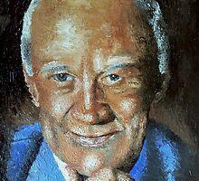 Buzz Aldrin by Ian Morton