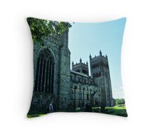 Durham Cathedral HDR Throw Pillow