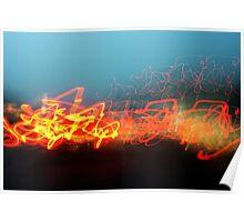 Light Graffiti Poster