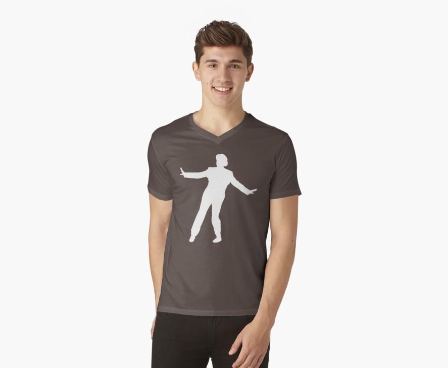 Dance silhouette by Dan Treasure