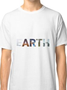 5 Faces of Earth Classic T-Shirt
