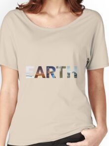 5 Faces of Earth Women's Relaxed Fit T-Shirt