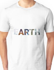 5 Faces of Earth Unisex T-Shirt