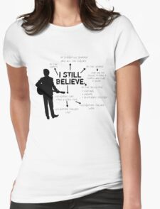 Frank Turner- I still believe Womens Fitted T-Shirt