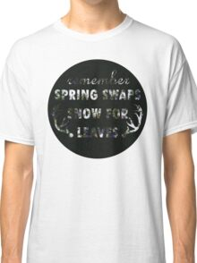 Mumford & Sons Winter Winds Floral Design Classic T-Shirt