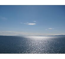Ocean view, Point Roberts, WA Photographic Print