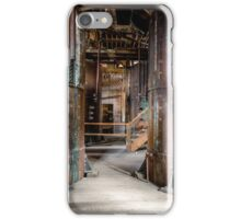 Abandoned machinery iPhone Case/Skin
