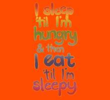 Sleepy / Hungry Kids Tee