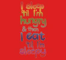 Sleepy / Hungry Baby Tee