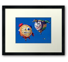 2011 Special Shapes - Tic Toc and Lady Jester Framed Print