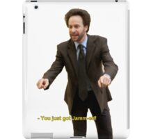"""You Just Got Jamm-ed!"" iPad Case/Skin"