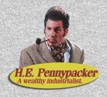 H.E. Pennypacker - Wealthy industrialist, and philanthropist (Cosmo Kramer) Seinfeld by erinttt