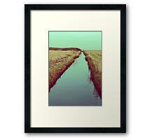 FOLLOW RIVERS Framed Print