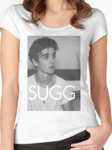 Sugg, Joe Sugg Designs Women's Fitted Scoop T-Shirt