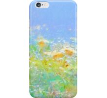 Spring Meadow Abstract iPhone Case/Skin