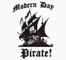 Modern day pirate! (Pirate bay logo ship) by erinttt