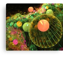Gathering of the planets Canvas Print