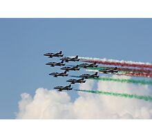 Frecce Tricolori Photographic Print