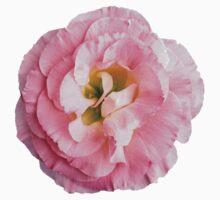 PINK FLOWER One Piece - Short Sleeve