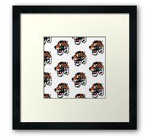 Funny Tiger Framed Print