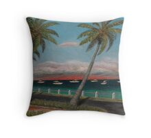 Miami Remembered Throw Pillow