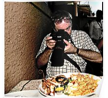 Photographing food Poster