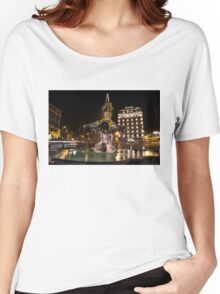 Rome's Fabulous Fountains - Bernini's Fontana del Tritone Women's Relaxed Fit T-Shirt
