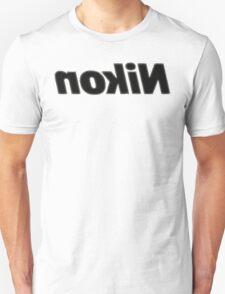 Nokin/Nikon Halftoned Mirror Unisex T-Shirt