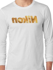 Nokin/Nikon Gold Mirror Long Sleeve T-Shirt