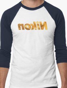 Nokin/Nikon Gold Mirror Men's Baseball ¾ T-Shirt