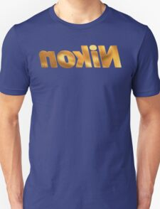 Nokin/Nikon Gold Mirror Unisex T-Shirt