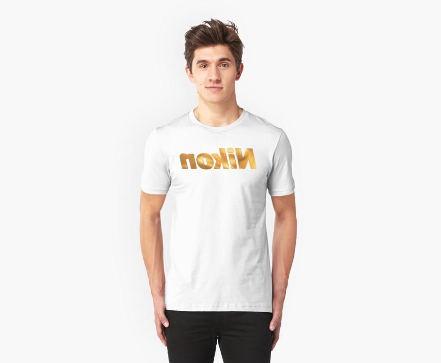 Nokin/Nikon Gold Mirror by TexTs