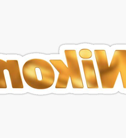 Nokin/Nikon Gold Mirror Sticker